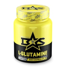 Глютамин BinaSport L-GLUTAMINE Caps 500 мг 300 капсул